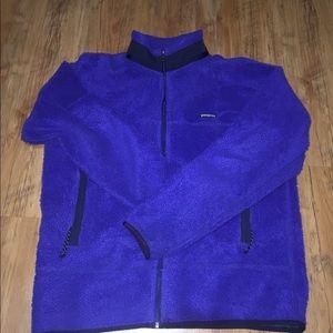 Vintage Patagonia purple fleece jacket